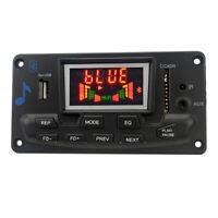 Bluetooth 4.2 MP3 Car Wireless Decoder Board Deoding Audio Module FM AUX 12V EB