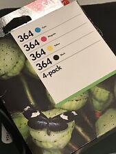 Genuine HP 364 4-Pack Original ink Combo Multipack N9J73AE OfficeJet 3520/4622