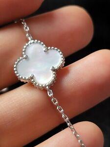 VAN CLEEF & ARPELS 925 sterling silver pearl bracelet