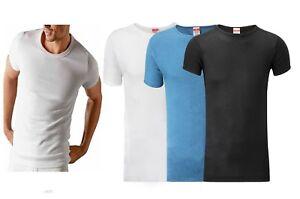 Mens Gents Thermal T Shirt Underwear Baselayer Warm Vest Sizes S M L XL XXL New