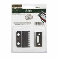 Wahl Professional Stagger-Tooth 2-Hole Clipper Blade #2161