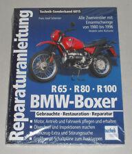 Manual de Reparaciones BMW Boxer R65,R80,R100 como Gs G/S st R Rui Rt Rs Clásica