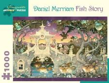 POMEGRANATE JIGSAW PUZZLE FISH STORY DANIEL MERRIAM 1000 PCS AA990