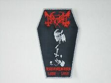 MAYHEM EURONYMOUS 1968-1993 EMBROIDERED PATCH