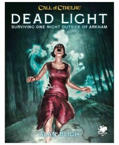Call Of Cthulhu 7th Edition RPG Dead Light And Other Dark Turns New In Stock