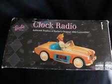 Vintage Barbie With Love Clock Radio Nib Austin Healey 1962 Classic New