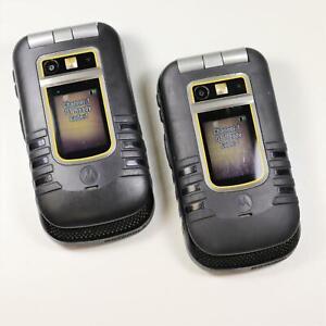 2x Motorola i686 UNLOCKED (Direct Talk iConnect) 2-Way Radio No Service Required