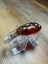 Vintage Fishing Lure Pre Raplala Plug Bug Great Color Tough Old Bait