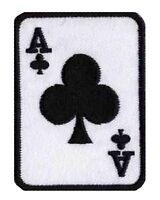 Ecusson patche Poker As de trèfle patch badge NagaPatches transfert