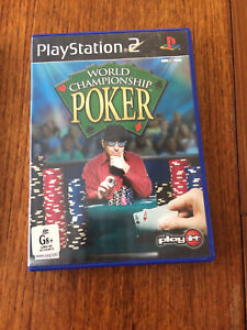 World Championship Poker,  PS2 Playstation 2 complete, tested, good cond