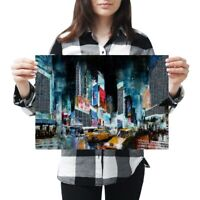A3 - Times Square New York City Poster 42X29.7cm280gsm #2217