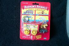 Vintage Barnum's Animals Key Chain Wagon,Hippopotamus t & Lion NIP by Fun 4 All