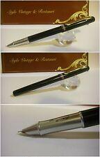 Stilografica Cocodrile Black Nishaeyu Fountain Pen - Stylo Nib cover-crown siz F