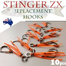 ZX Blade Vibe Fishing Lure Stinger Retrofit Replacement Hooks Eco Gear Shrimp OR