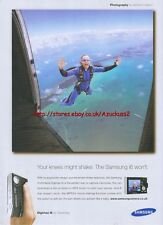 Samsung Digimax i6 Camera 2006 Magazine Advert #3160