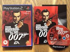 007 From Russia With Love Ps2 Game! Complete! Look At My Other Games!