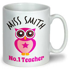 PROFESSION COLLECTIBLE MUG - Personalized Name - Teacher
