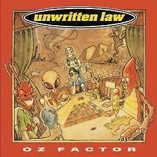Unwritten Law  Oz Factor CD Album VGC