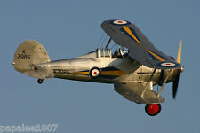 "Model Airplane Plans (FF): GLOSTER GLADIATIOR 1/12 Scale 32"" for 1/2A (.75-1cc)"
