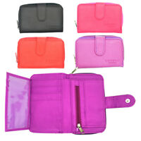Ladies Large Leather Style Organiser Purse with Zipped Coin Section