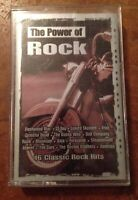 Power of Rock: 16 Classic Rock Hits by Various Artists (Cassette, Jun-2004, Mada