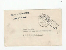 Za025/US field post letter O Mannheim 31 8 49 - > shouted Home