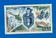 TIMBRE FRANCE 1970-Nº 1622-Gendarmerie nationale-neuf neuf sans charnière
