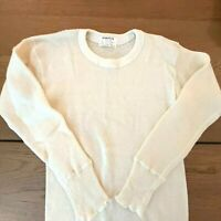 Vintage Stanfields 80% Wool Mens SM 34-36 Under Shirt  Canada Made RARE MINT