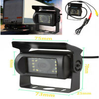 1x Reverse Backup Car Front Rear View Camera Night Vision Parking For Bus Truck