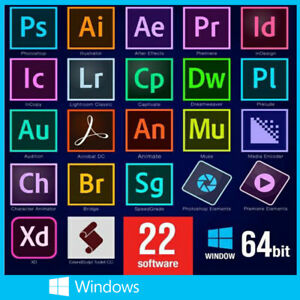 AdobeCreative Cloud Master Collection 2021 For Windows
