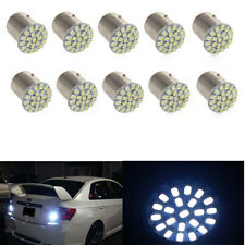 2X White 1157 BAY15D 22 SMD LED Light Bulb Tail Break Stop Turn Signal light 12V