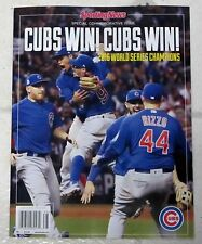 No Label SPORTING News CHICAGO CUBS WORLD SERIES Special Edition CHAMPIONS 2016
