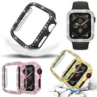 Frame Crystal Diamonds Cover Watch Bumper Case For Apple Watch Series 1-4iWatch