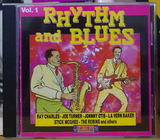 RHYTHM AND BLUES VOL.1 COMPACT DISC FAT STARLITE RECORDS 1990