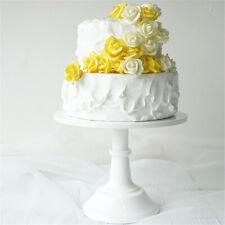 10'' Cake Stand Pedestal White Dessert Holder Plate Wedding Birthday Party  S