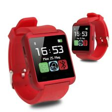 Fashion Bluetooth Smart Wrist Watch Dail Music Play Phone Mate F Android & IOS