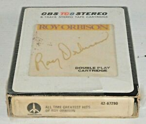 8-track 8 track tape cassette cartridge ROY ORBISON GREATEST HITS BOXED