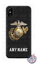 USMC Marine Corps Semper Fi Phone Case Cover For iPhone Samsung Google etc NAME