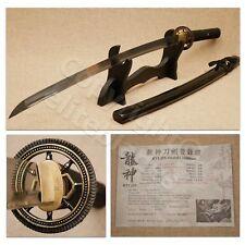 Ryujin Seinaru 1060 Steel Hand Rorged Samurai Katana Sword Live Blade