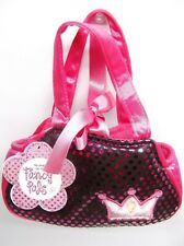 Pink Fancy Pals Toy Pet Carrier Shiny Purse NEW