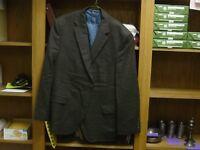 Jack Victor Select Men's brown Sport Coat LIGHT Wool Blazer 46S