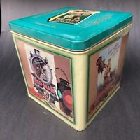 "🟢 Vintage 1989 Limited Edition Red Man Chewing Tobacco ""Chew Red Man"" Tin Box"