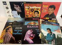 Elvis Presley Lot of 20 Record LP's Vinyl Collection RCA Golden Rock Originals