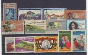 chocolate german Poster stamps collection, cinderellas, Q18