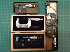 5 x Mauser Bügelmessschraube; versch. Messbereiche; Top Zustand