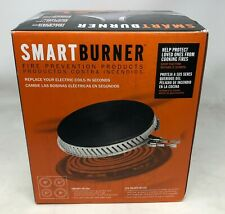 New! SmartBurner - 2 x 2 Cooking Fire Solution for Electric Coil Stoves - Black
