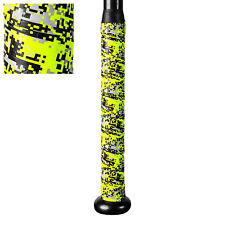 "New! Champro Sports A031 Xtreme Tack Bat Grip 1.8mm x 39"" Yellow Optic Digi Camo"