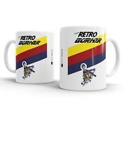 Retro Burner Art Mug - Inspired by Raleigh - Bike Ninja Cycling