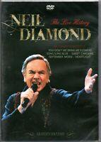 Neil Diamond DVD The Live History Brand New Sealed