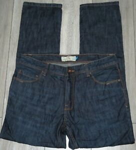 Mens🦋NEXT🦋dark blue slim leg denim jeans size 34R